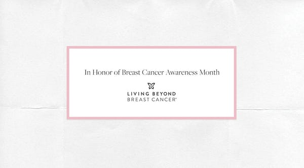 Learn More about Living Beyond Breast Cancer | Breast Cancer Awareness Month 2021