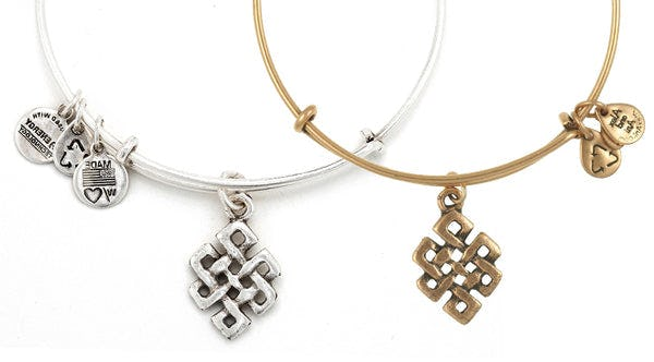 Spotlight on: Endless Knot Charm Bangle