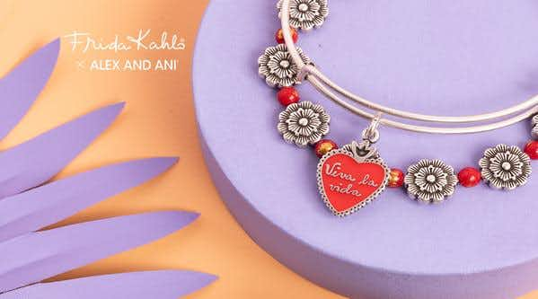 Introducing the Frida Kahlo x ALEX AND ANI Collection