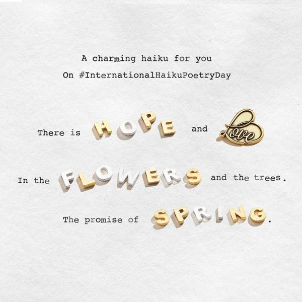 Inspiring Haiku's Written by Team ALEX AND ANI for You.