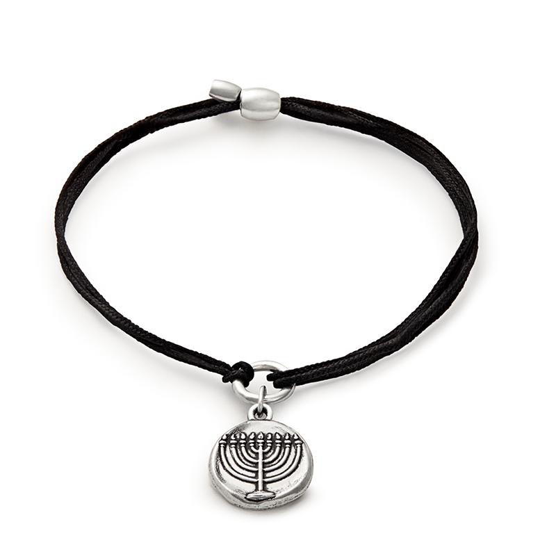Menorah Pull Cord Bracelet