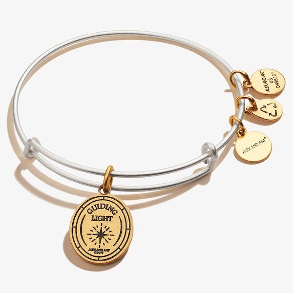 Guardian Angel Symbol Charm Bangle