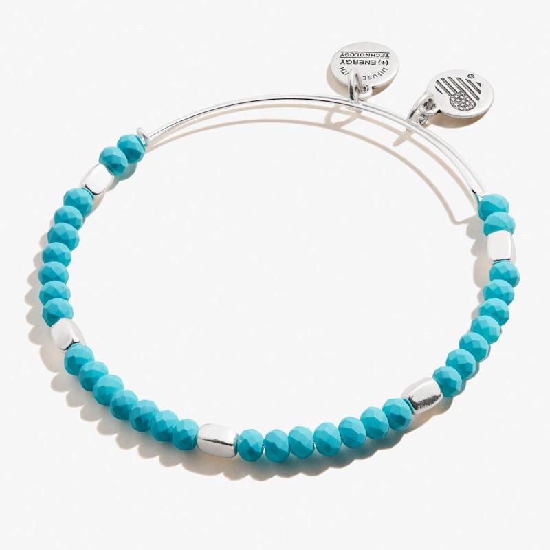 Turquoise Balance Beaded Bangle