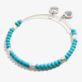 Turquoise Balance Beaded Bangle