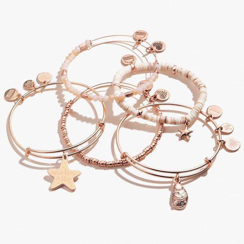 Wish Upon a Star Bracelets, Set of 5