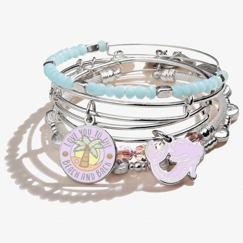 Love You to the Beach & Back Bracelets, Set of 5