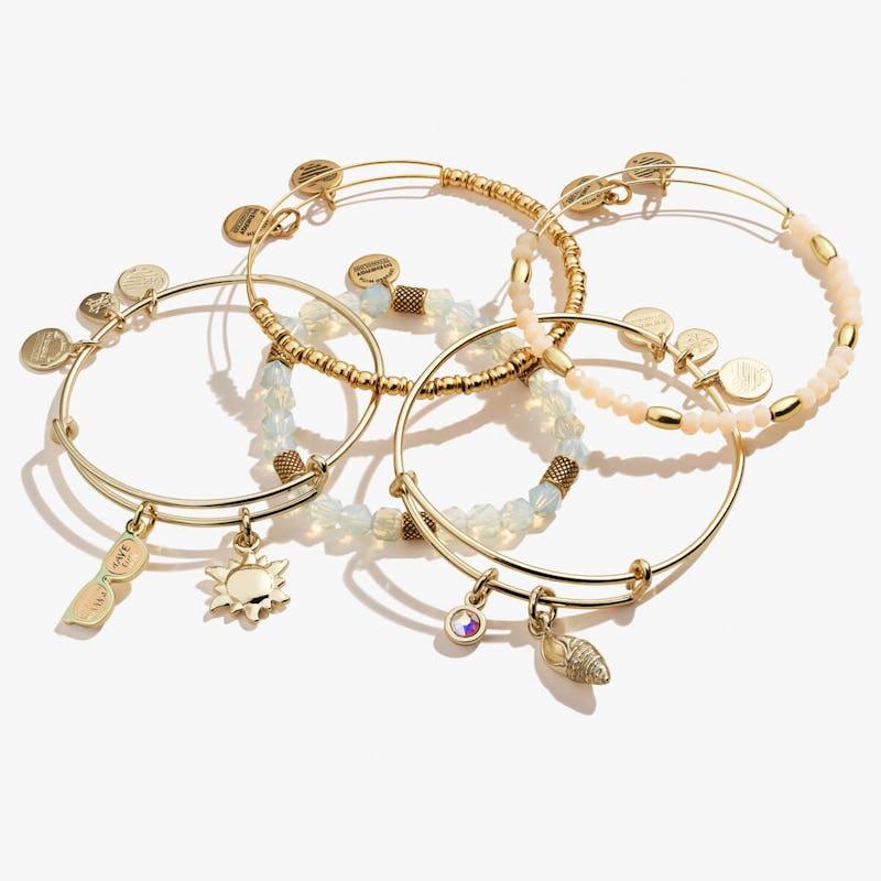 Girls Just Wanna Have Sun Bracelets, Set of 5