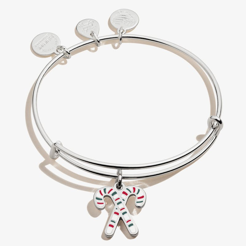 Candy Canes Charm Bangle, Color