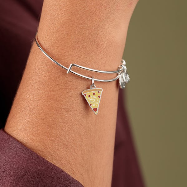 'You Have a Pizza My Heart' Charm Bangle