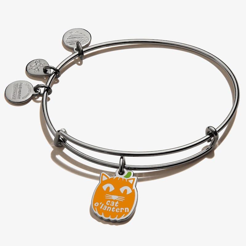 Cat O'Lantern Charm Bangle, Color