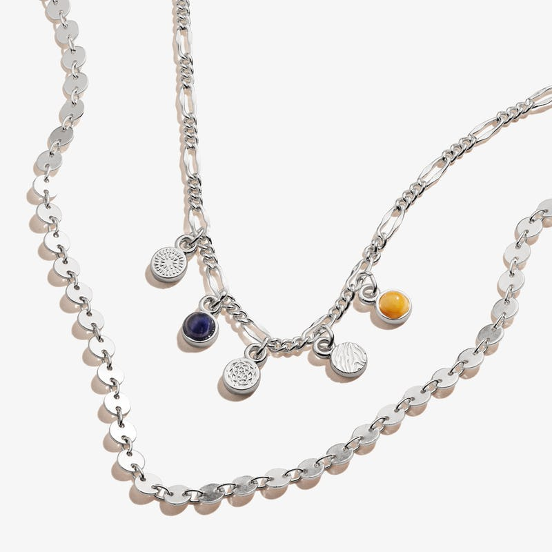 New Beginnings Multi-Charm Layered Necklace