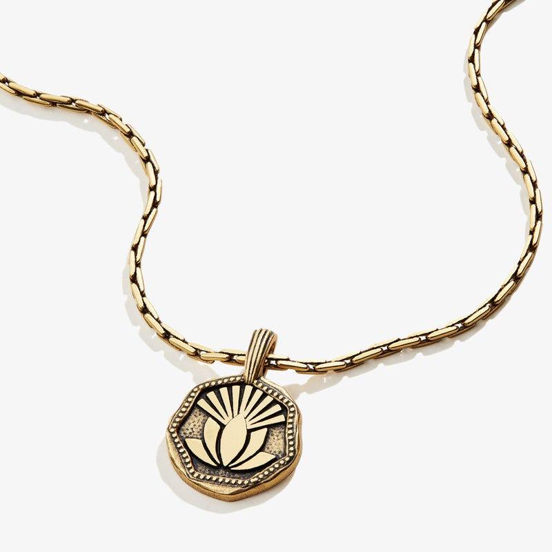 Quan Yin Necklace, Rafaelian Gold, Alex and Ani
