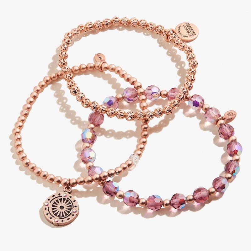Cosmic Balance Stretch Bracelets, Set of 3