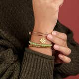 Ugly Sweater Beaded Bangles, Set of 3