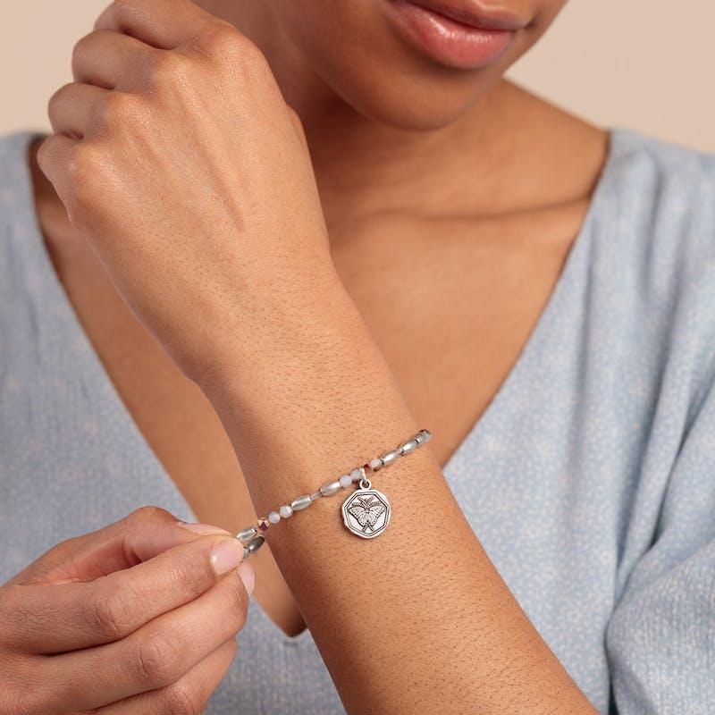 Butterfly Woman Stretch Bracelet