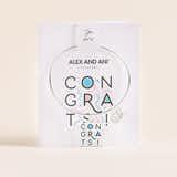 'Congrats!' Charm Bangle, Shiny Silver, Alex and Ani