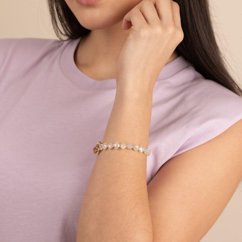 Harmony Wrap Bracelet, Soft Yellow