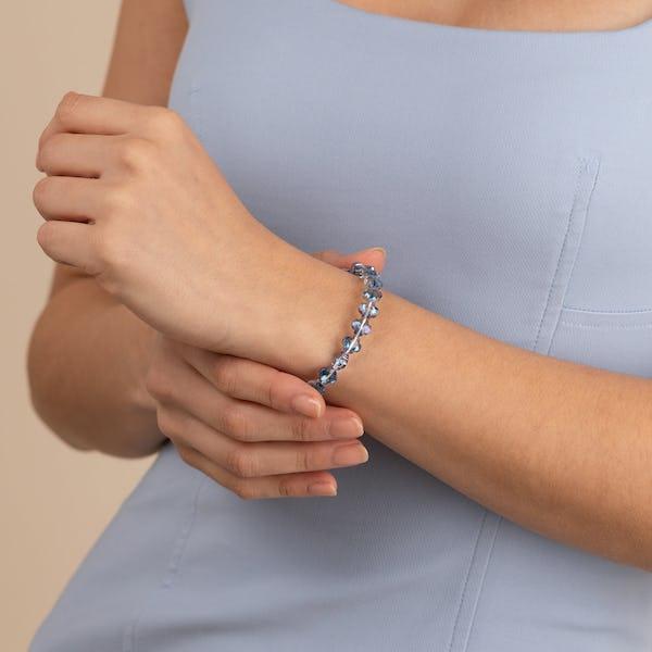 Harmony Wrap Bracelet, Blue