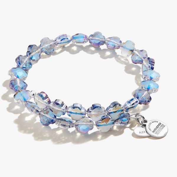 Harmony Wrap Bracelet, Shiny Silver, Alex and Ani