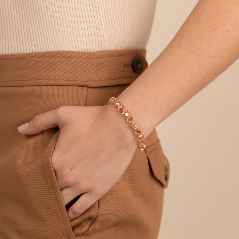Harmony Wrap Bracelet, Sandstone