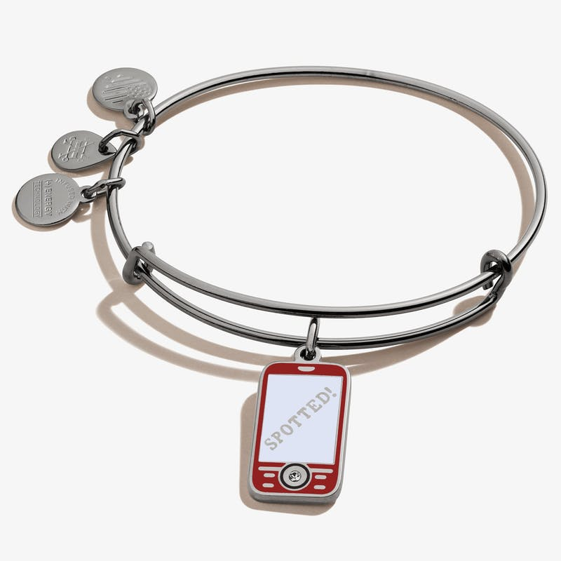 Gossip Girl Cell Phone Charm Bangle, Color