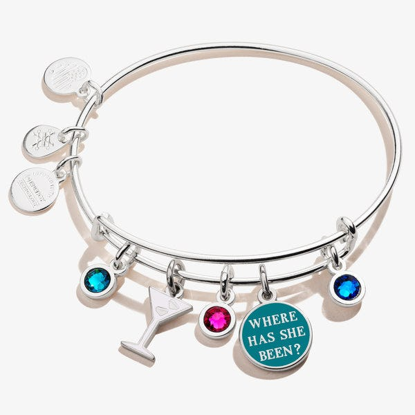 Gossip Girl 'Where Has She Been' Multi-Charm Bangle