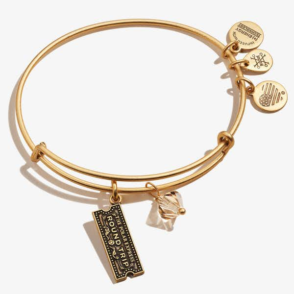 The Polar Express™ Train Ticket Duo Charm Bangle