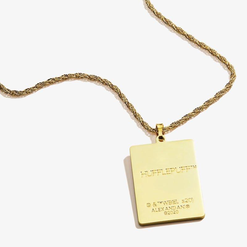 Harry Potter™ Hogwarts + Hufflepuff Charm Necklace