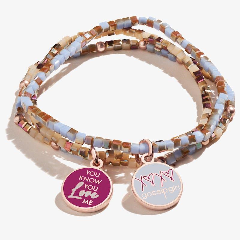 Gossip Girl 'You Know You Love Me' Stretch Bracelets, Set of 3