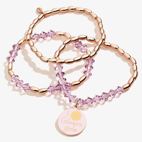 Gilmore Girls Beaded Stretch Bracelets, Set of 3