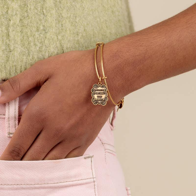Friends, 'The Rachel To My Monica' Charm Bangle