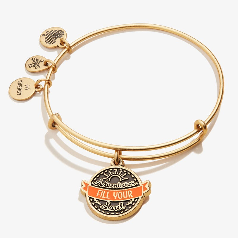 'Adventures Fill Your Soul' Charm Bangle