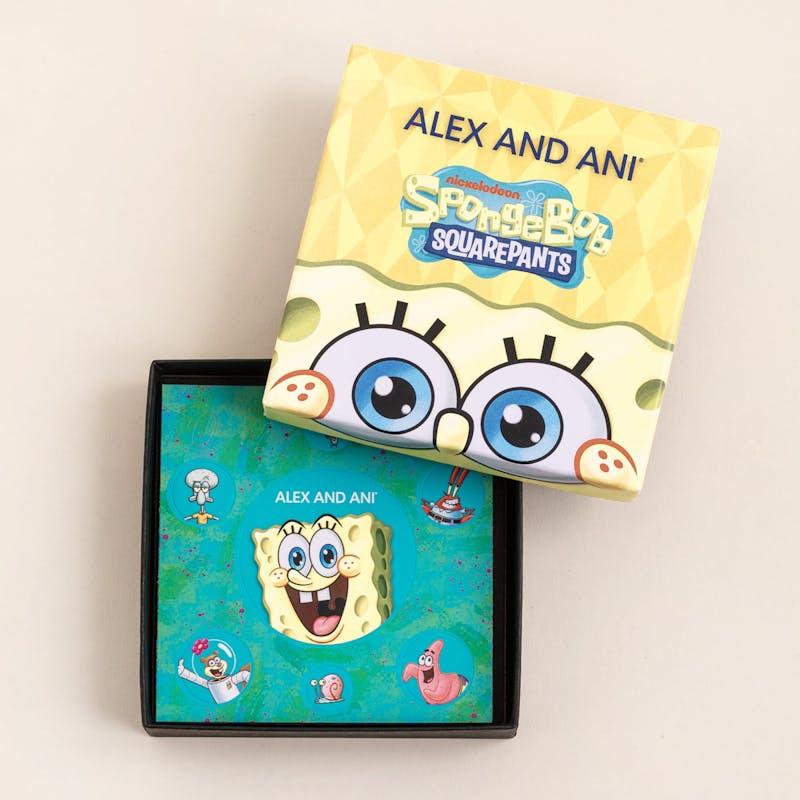 SpongeBob Sandy Duo Charm Bangle