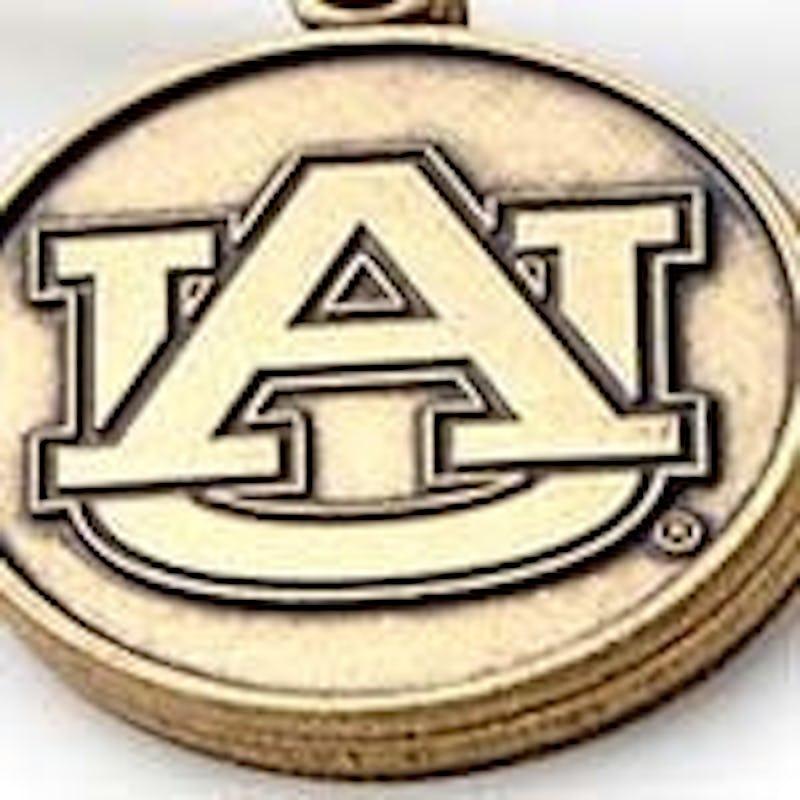 Auburn University Logo Charm Bangle