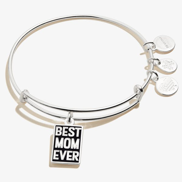 'Best Mom Ever' Charm Bangle