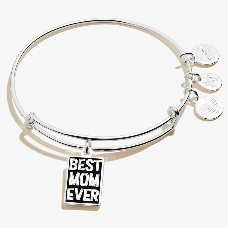 'Best Mom Ever' Charm Bangle