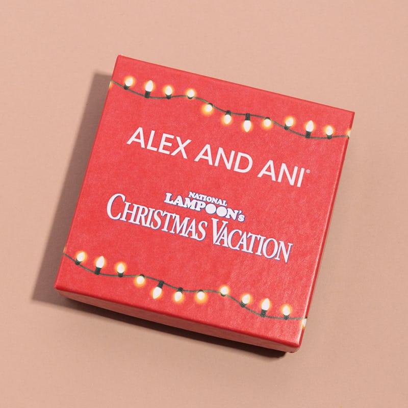 National Lampoon's Christmas Vacation Sparky Santa Hat Charm Bangle
