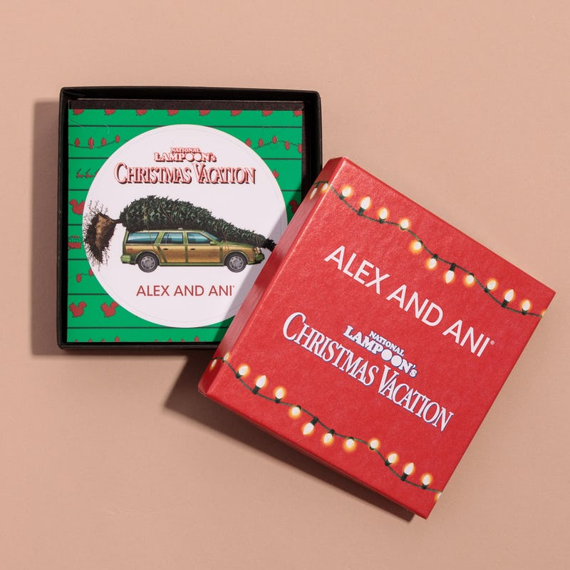 National Lampoon's Christmas Vacation Griswold Station Wagon Charm Bangle