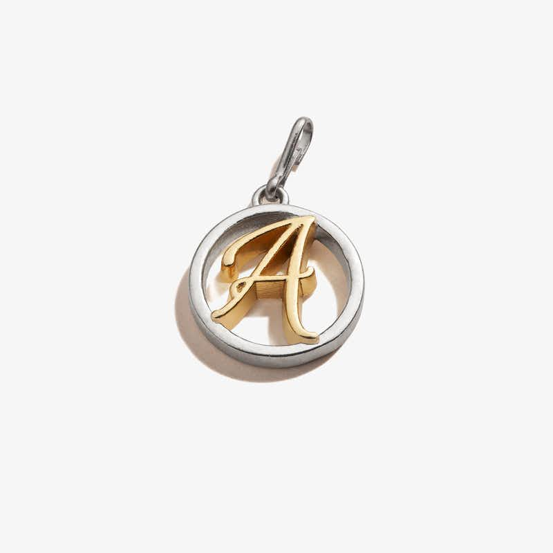 Initial A Charm, Two-Tone