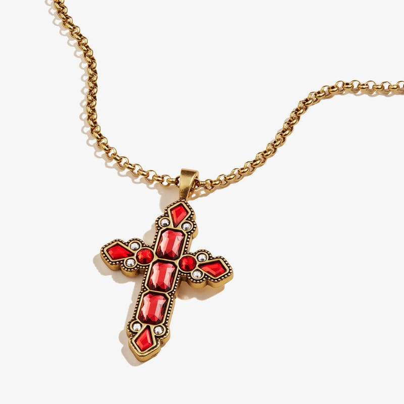 Cross Statement Necklace