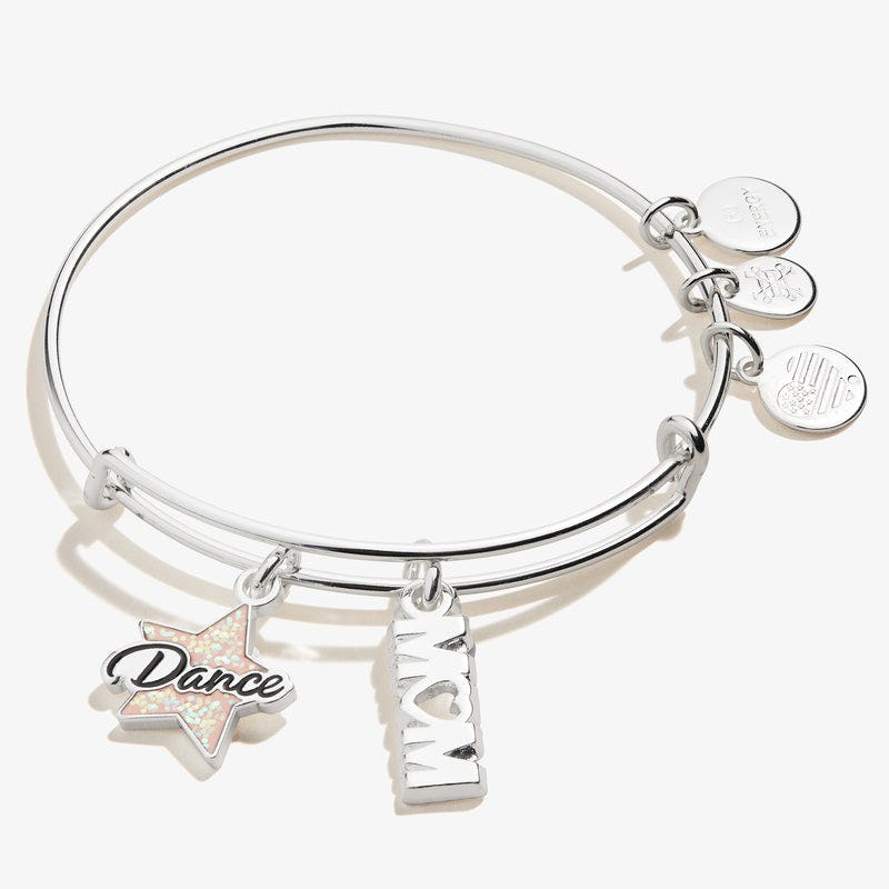 Dance 'Mom' Duo Charm Bangle