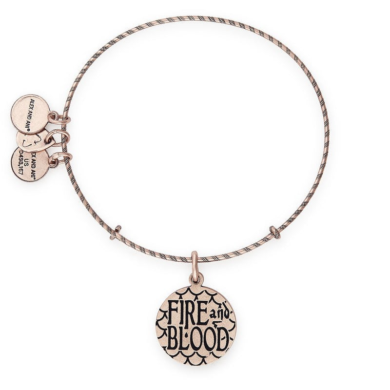 Game of Thrones, Fire & Blood Charm Bangle