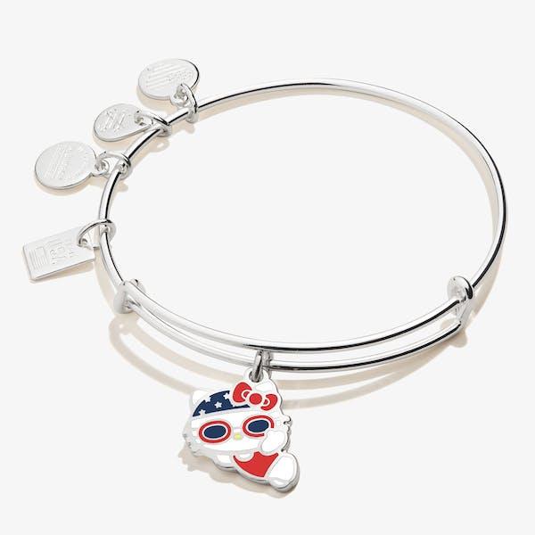 Hello Kitty Team USA Swimmer Charm Bangle