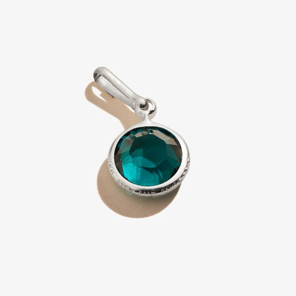 May Emerald Birthstone Charm, .925 Sterling Silver, Alex and Ani
