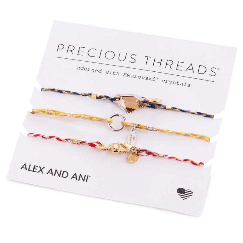 Seahorse Precious Threads Bracelet, Set of 3
