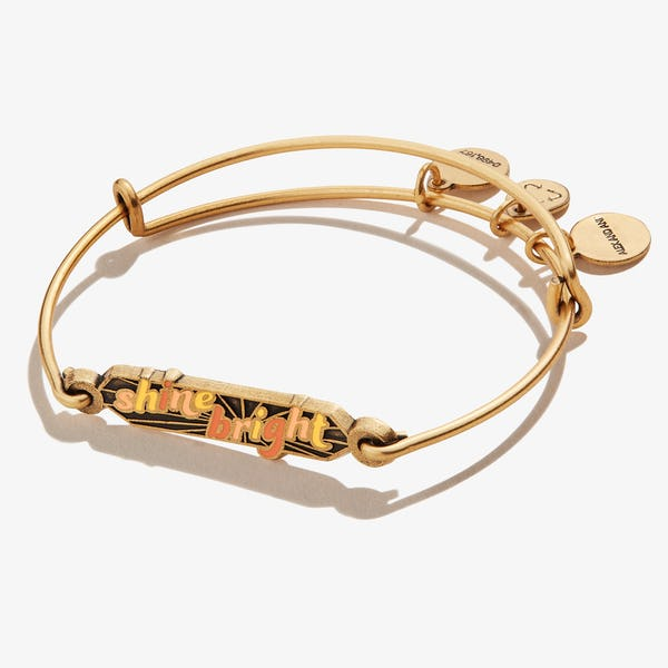 'Shine Bright' Inline Charm Bangle