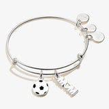 Soccer 'Mom' Duo Charm Bangle