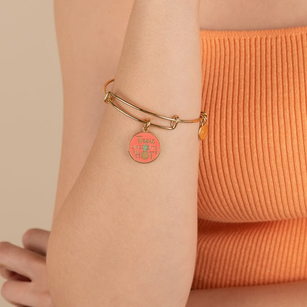 'Tropic Like It's Hot' Charm Bangle