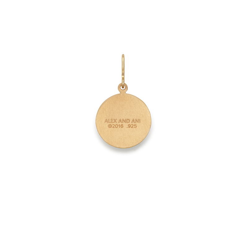 Saint Christopher Etching Charm, Small