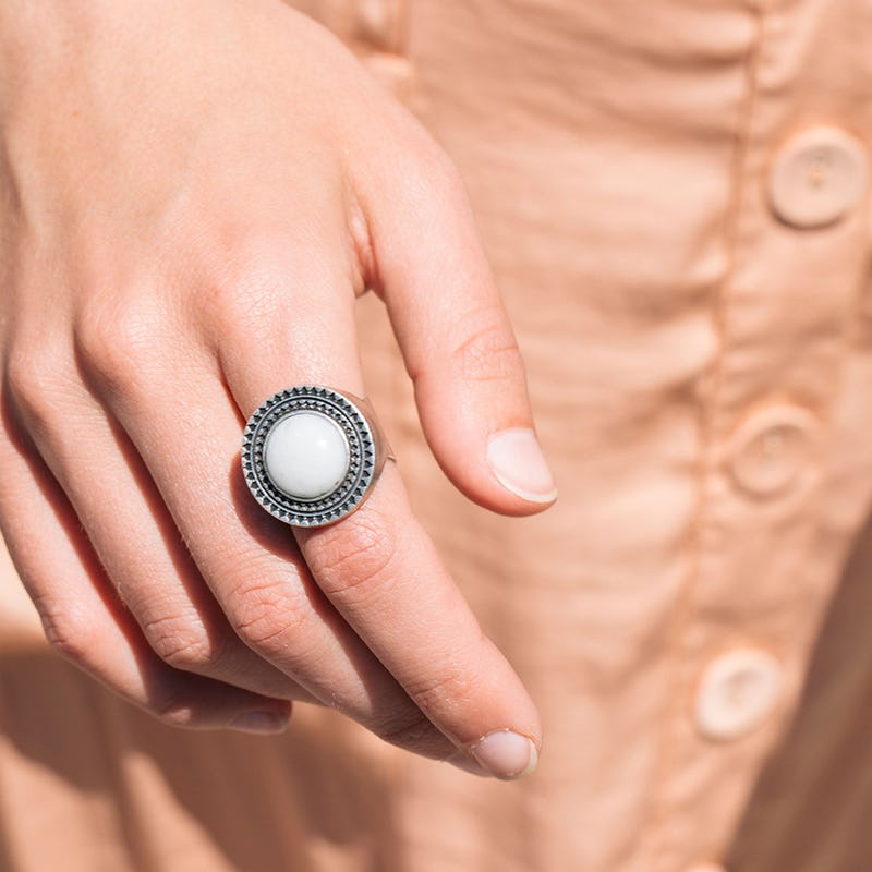 Amazonite Cocktail Ring
